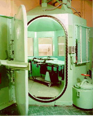 gas chamber at San Quentin State Prison