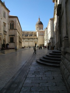 Old City in Dubrovnik, Croatia