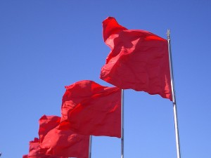 RED FLAG!