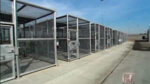 Corcoran-SHU-yard-cages